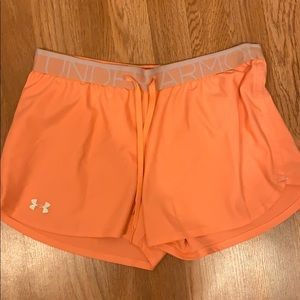 Women's under armor work out shorts